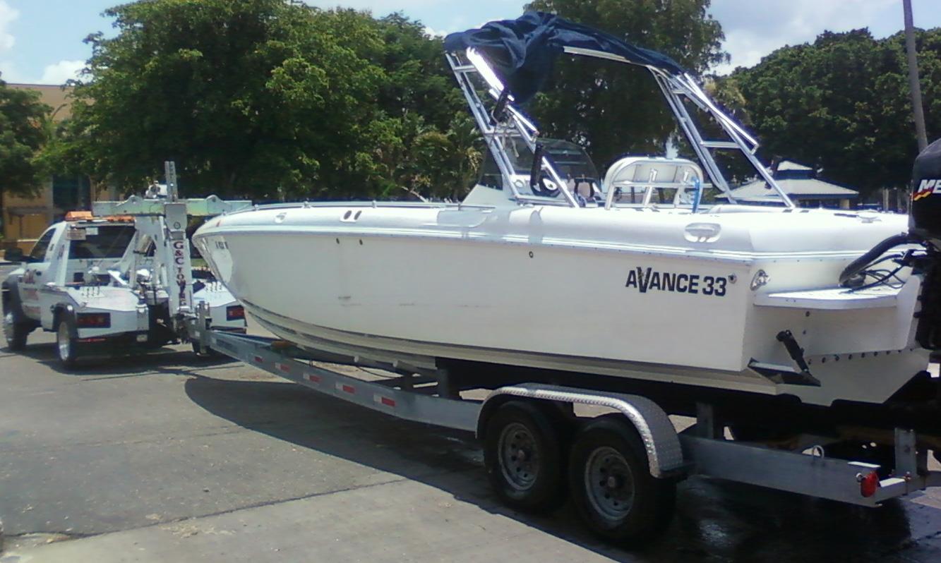 Boat Trailer Towing Near Estero Fl